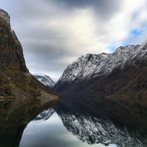 Fjords in Norway Gudvangen