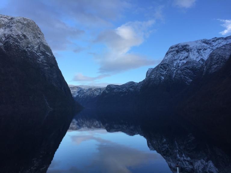 Gudvangen Norway Fjord Cruise