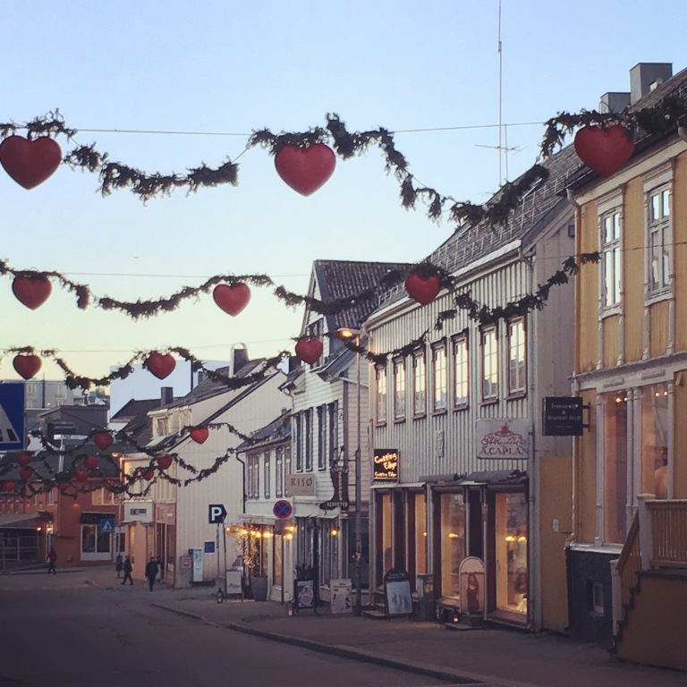 Tromso Norway Christmas Decor