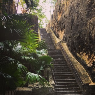 The Queen's Staircase.