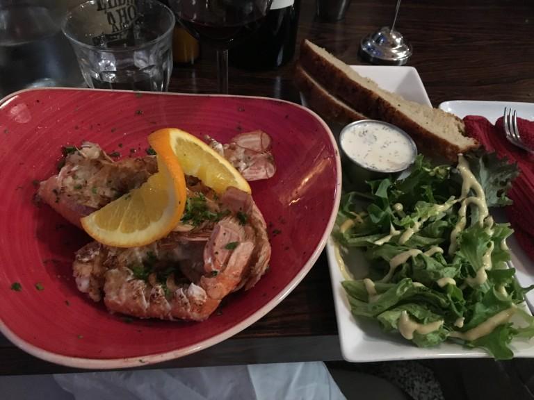Icelandic Fish and Chips Langoustines