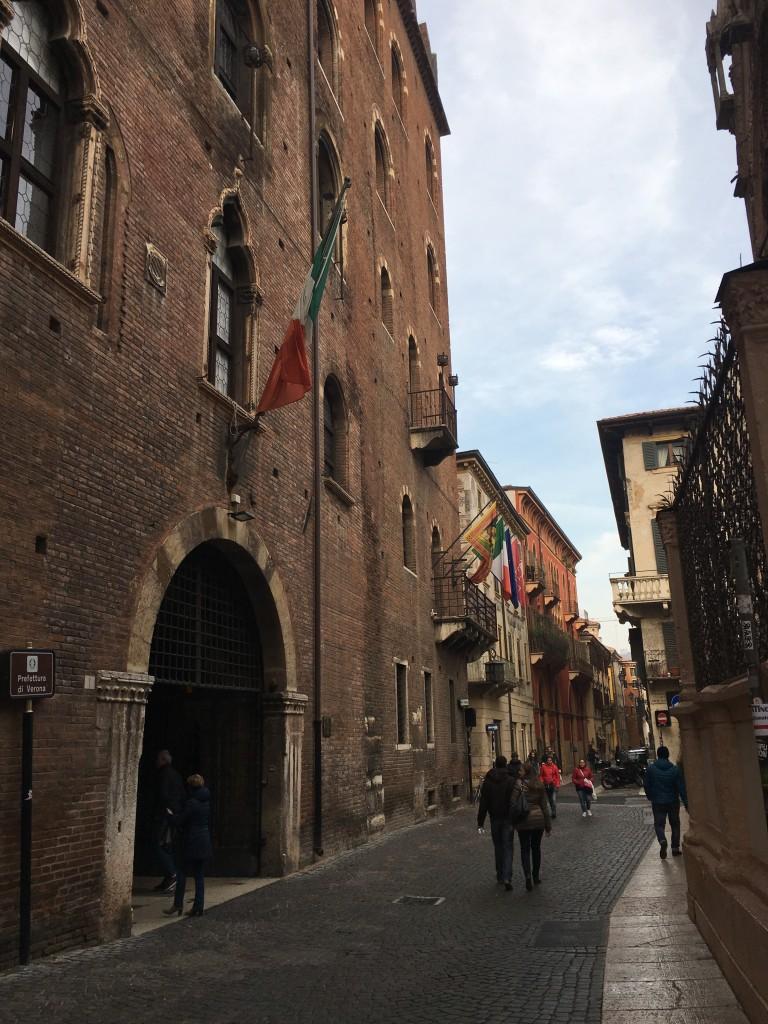 verona italy street